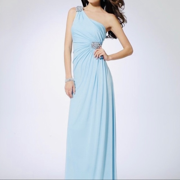 Cache Dresses & Skirts - Cache One Shoulder Prom/Formal Dress